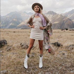 Spell Lana Organic Cotton Slip in Cream